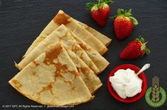 Gluten-Free Sweet and Savory Crepes Recipe. Gluten Free Crepes, Savory Crepes, Crepe Recipes, Recipe From Scratch, Waffles, Cooking Recipes, Tasty, Bread, Baking
