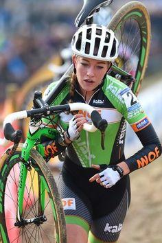 Cyclocross World Cup 2: Koksijde Sophie De Boer (Kalas-NNOF). Photo: Tim De Waele   TDWsport.com