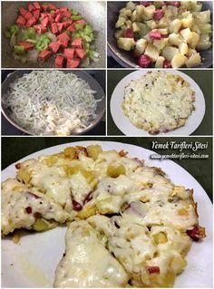 Kahvaltılık Patates Kavurma Tarifi #Kahvaltı #Yemek