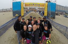 Group shot after crossing the finish line #NuunHTC #HTC14 #GoPro
