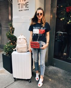Best outfit for travelling on an airplane
