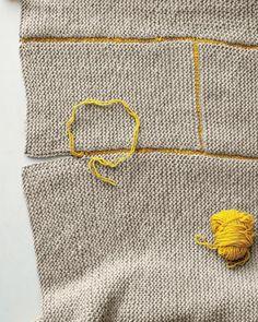 How to knit a blanket / Cómo hacer una manta tejida // Casa Haus