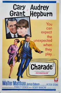 Charade 1963 - by Stanley Donen