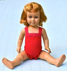 Reserved Vintage Mattel Chatty Cathy Doll 1959 by ivorybird, I don't remember her looking like this.