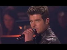 (80) Robin Thicke: When I Get You Alone (Dancing With The Stars) - YouTube