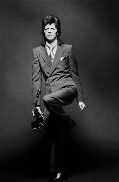David Bowie, 1973. Photo by Mick Rock