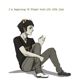 Sollux - Homestuck // omg wat it does a thing when it comes up on the thingy that asks you where you want to pin a picture and just wat ;-;