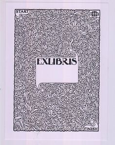 ex libris maze // confessions of a bookplate junkie: universal bookplates/goodbye twitter
