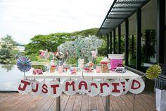 Eric and Stella's DIY Garden Wedding at HortPark