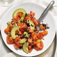 Avocado-Tomatensalat mit Papaya - BRIGITTE