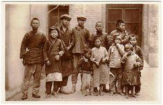 上海街头流浪儿 Shanghai 1920s by China Postcard
