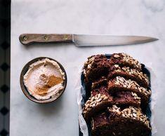 vegan chocolate banana cake ✨ Vegan Chocolate, Chocolate Cake, Nut Butter, Vegan Baking, Vegan Recipes, Banana, Cookies, Desserts, Food