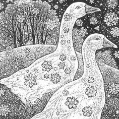 Wood engraving artist Sue Scullard portfolio of prints she is based in Kent, UK Encaustic Painting, Fabric Painting, Painting Art, Alcohol Ink Glass, Alcohol Inks, Lino Prints, Block Prints, Art Prints, Woodcut Art