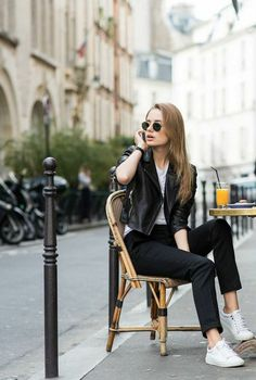 SHE WEARS THE PANTS | PARIS. #TheSkinnyPant with @classisinternal. Photographed by @onabbotkinney. #JBRAND