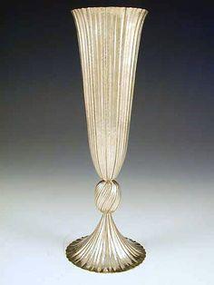 Silver Vase by Josef Hoffmann