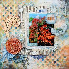 Garden of Grace: Fall Leaves for RRR Fall Leaves Challenge. 7 Dots