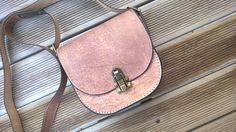 Leather crossbody bag Designer handbags Crossbody by TheSacredWays