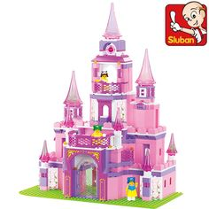 Sluban B0152 learning/education Princess series Castle Building Block Set Girls Bricks Gift brinquedos compatoable with