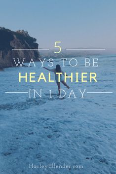 5 habits you need to incorporate into your daily routine for a healthier life! Incorporate these healthy living tips and feel so much better in less than one day! Healthy Lifestyle Tips, Healthy Living Tips, Healthy Habits, Healthy Snacks, Paleo Desert Recipes, Paleo Recipes, Ways To Be Healthier, Natural Acne Remedies, Spiritual Health