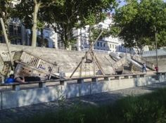 France, Lione, Quai du Rhone. One of the best playgrounds we ever recommended.