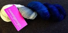 Ravelry: LeeLaBasicCable's SweetGeorgia Yarns Glitterati Sock