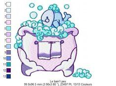 Le bain 1 Bon Courage, Smurfs, Blog, Fictional Characters, Amigos, Fantasy Characters