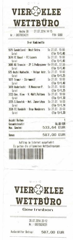 9er Kombiwette - Gewonnen Fc Basel, Tips, Lucerne