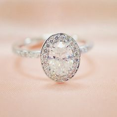 Diamond Engagement Rings: Making Your Selection Bling Bling, The Bling Ring, 4 Diamonds, Dream Ring, Diamond Are A Girls Best Friend, White Gold Rings, Beautiful Rings, Just In Case, Jewelry Accessories