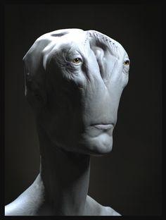 Nostalgic Alien, Gabriel Beauvais on ArtStation at https://www.artstation.com/artwork/gentle-alien