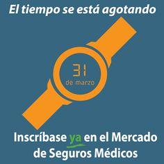 El tiempo se agota. ¡Faltan 6 días para obtener #seguromedico! #Asegurate