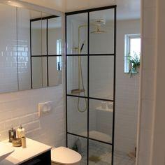 Duschvägg Lindö Bathroom Decor Sets, Bathroom Inspo, Bathroom Colors, Bathroom Inspiration, Downstairs Bathroom, Small Bathroom, Interior Styling, Interior Decorating, Bathroom Toilets