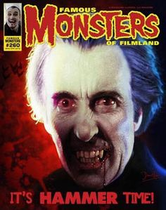 Famous Monsters of Filmland #260. Cover by Dave Elsey.