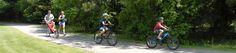 Beaver Island State Park trails for biking :)