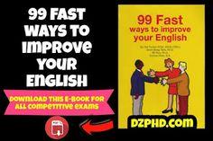 الشامل التعليمي: 99 Fast Ways to Improve Your English