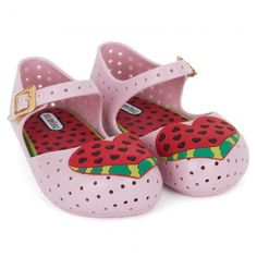 Mini Melissa Shoes  Pink Watermelon Furadinha in Baby Pink (Size 9)