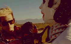 """My Chemical Romance's """"Na Na Na"""" video. Mikey Way as Kobra Kid."""