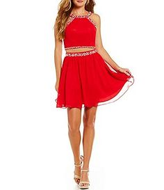 1e747d334c0 2 piece dress  Juniors  Dresses. Dillards Homecoming ...