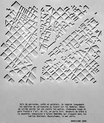 armelle caron - maqueta Architecture Mapping, Architecture Models, Armelle, Aerial Images, Architectural Drawings, French Artists, Site Design, Map Art, Urban Design