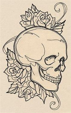 Ideas For Tattoo Designs Unique Urban Threads Drawing Sketches, Pencil Drawings, Tattoo Drawings, Art Drawings, Tattoo Outline Drawing, Unique Drawings, Outline Drawings, Tattoo Sketches, Skull Art