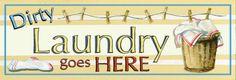 Dirty Laundry Affiches par Gregory Gorham sur AllPosters.fr