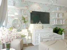 67 Trendy bedroom ideas cozy chic home decor Shabby Chic Living Room, Living Room White, Shabby Chic Decor, Home Living Room, Living Room Decor, Cozy Bedroom, Bedroom Decor, Bedroom Ideas, Trendy Bedroom