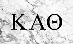 Kappa Alpha Theta Sorority Flag- Marble - Brothers and Sisters' Greek Store