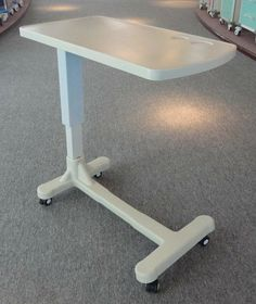 Charmant Height Adjustable ABS Over Bed Table .