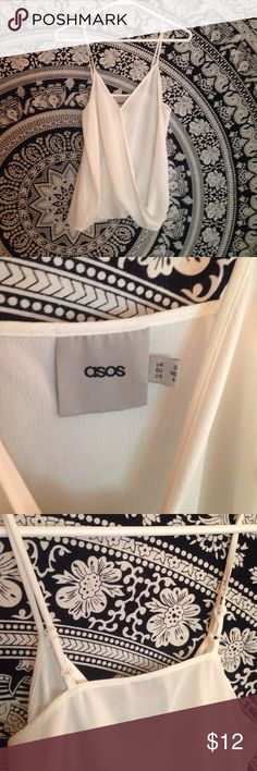 Asos Tank Top Hardly worn Asos tank top. Asos Tops Tank Tops