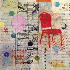 "Saatchi Art Artist Christopher Chaffin; Collage, ""Figured it out"" #art"