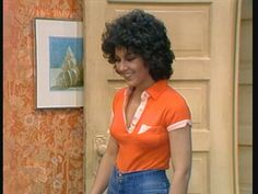 """Joyce DeWitt as Janet Wood on """"Three's Company"""" Sandy Mandy, Top Tv Shows, Three's Company, Online Photo Gallery, Kirsten Dunst, Classic Tv, Celebs, Celebrities, Up Girl"""
