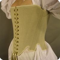 """Sewing Basic Strapless """"Renaissance"""" Stays with Modern Materials"""