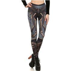 Wow Of The Horde Grey Printed Leggings