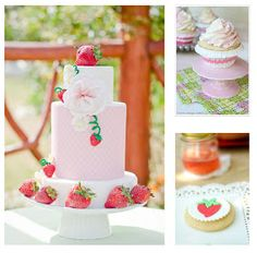 Birthday Party Blog: Sweet Strawberry Party