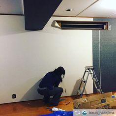 私もお手伝いしてます😆 Repost from @ikeuo_nakajima お店のリニューアルに伴い、家族で壁貼りしています。清潔感のある白へ。 #京都鮮魚なかじま #鮮魚 #嵯峨野 #嵐山 #京都 #お魚大好き